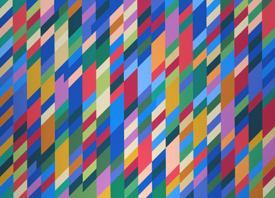 Nataraja 1993 by Bridget Riley born 1931