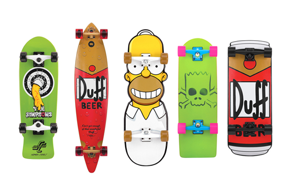 The simpsons design elmanco - Tavole da snowboard santa cruz ...